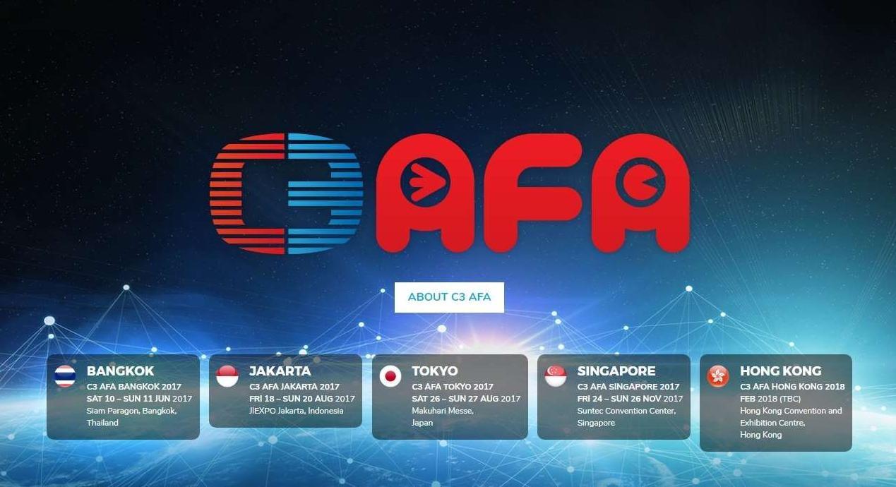 C3AFA(シンガポール・香港) LUMICAステージ